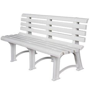 3-Sitzer Gartenbank Atena aus Kunststoff von Swift Garden Furniture