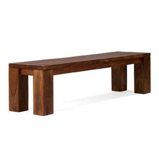 Cubus Wooden Bench By Massivum
