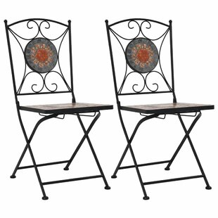 Cappello Folding Garden Chair (Set Of 2) By World Menagerie