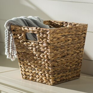 Widemouth Wicker Rattan Basket