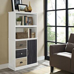 Snowy Mountain Standard Bookcase by Red Barrel Studio