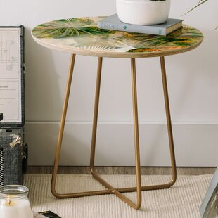 Iveta Abolina Tropical Round End Table