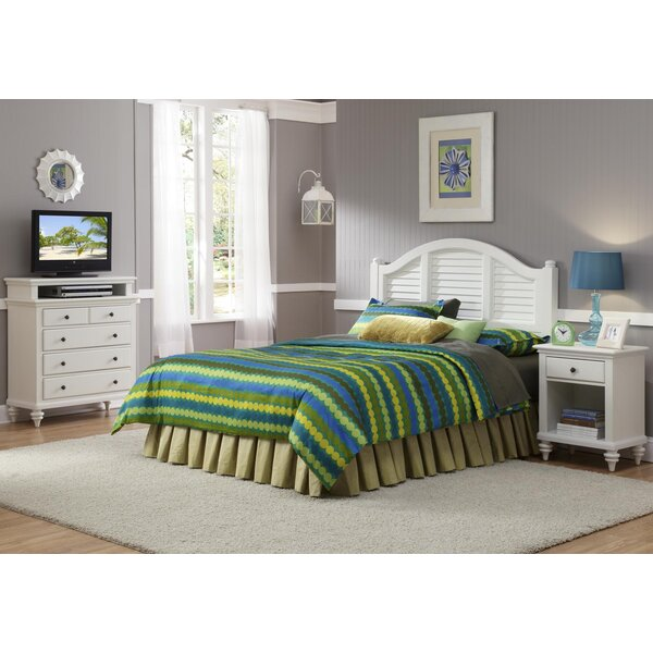 Beachcrest Home Harrison Traditional Panel 3 Piece Bedroom Set U0026 Reviews |  Wayfair