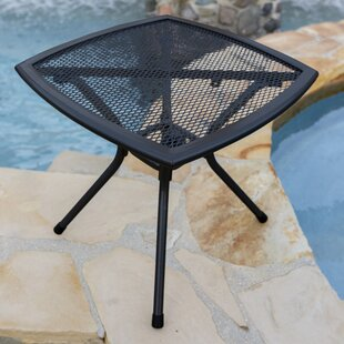 Capetown Steel Mesh Metal Side Table