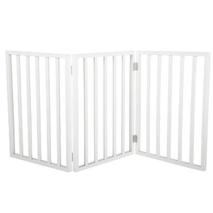 Demeter Freestanding Wooden Pet Gate by Archie & Oscar