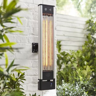 Wall Mounted Electric Patio Heater By Swan
