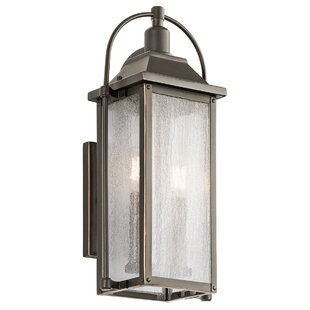 August Grove Devils Lake 2-Light Outdoor Wall Lantern