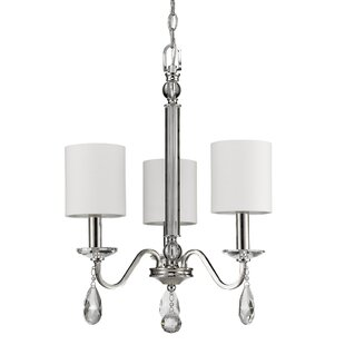 Potterslane 3-Light Shaded Chandelier by Charlton Home