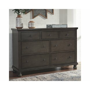 Savings Gabilan 7 Drawer Double Dresser by Alcott Hill