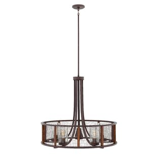 Read Reviews Fifi 5-Light Outdoor Pendant By 17 Stories