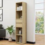 Borna 76.3H x 14.2W Standard Bookcase by Latitude Run®