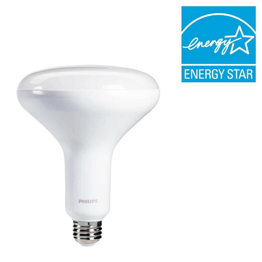 10 Watt (65 Watt Equivalent), BR40 LED, Dimmable Light Bulb, Daylight  (5000K) E26/Medium (Standard) Base