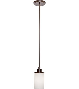 Comparison Gerald 1-Light Cylinder Pendant By Darby Home Co