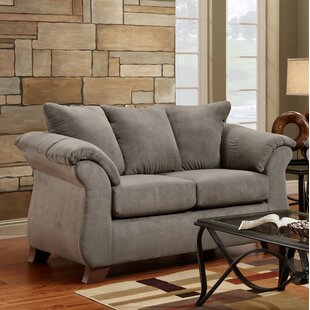 Comparison Hively Pillow Back Standard Loveseat by Charlton Home Reviews (2019) & Buyer's Guide