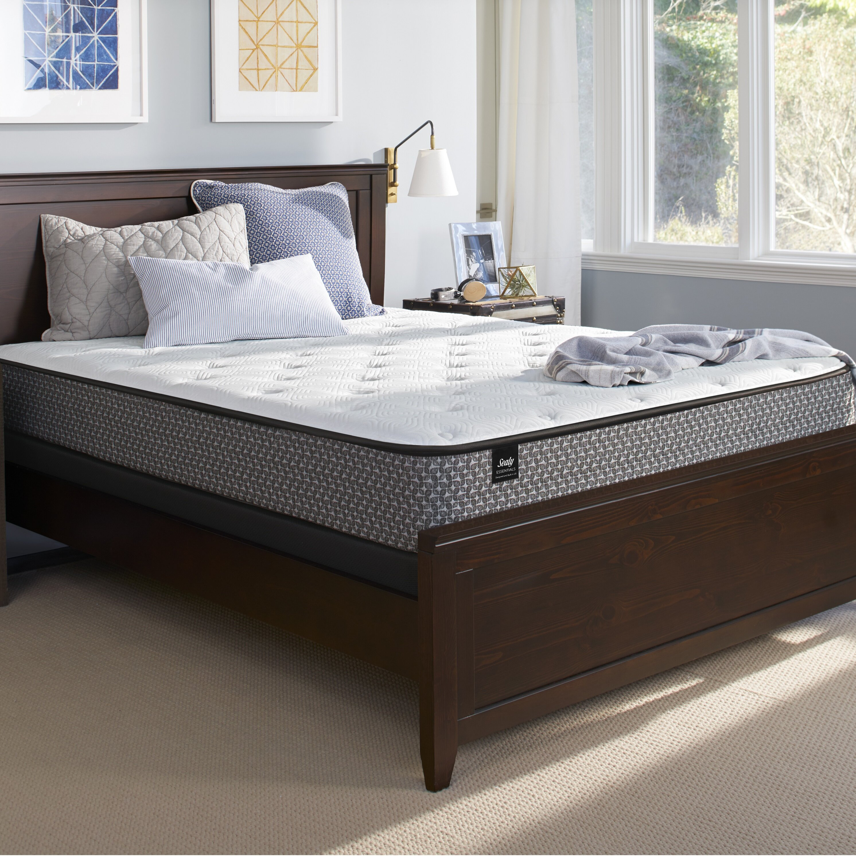 Twin Sealy Response Performance 12-Inch Cushion Firm Tight Top Mattress