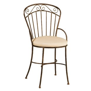 Imperial Patio Dining Chair with Cushion by Deer Park Ironworks