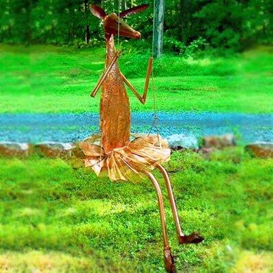Giselle on a Swing Garden Statue