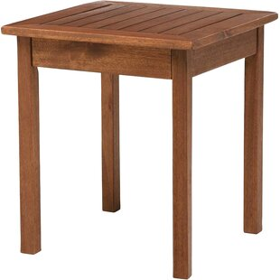 Lancaster Solid Wood Side Table by Plow &..