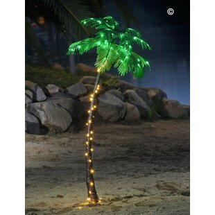 Lightshare Pre-Lit LED 96 Light Palm Tree