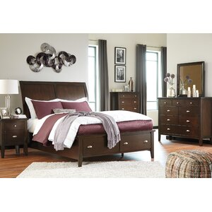 Evanburg Panel Configurable Bedroom Set