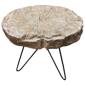 Yadira Slab End Table by Union Rustic
