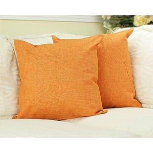 Burnt Orange Couch Pillows | Wayfair