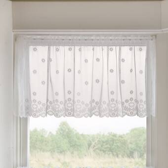 Rlf Home Playful Day Petticoat 50 Window Valance Reviews Wayfair Ca