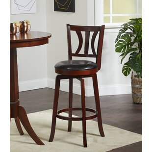 Price comparison Loami 29 Swivel Bar Stool by Darby Home Co Reviews (2019) & Buyer's Guide