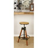Adjustable Height Swivel Bar Stool by Cole & Grey