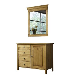 Freddy 4 Drawer Combi Chest By Alpen Home