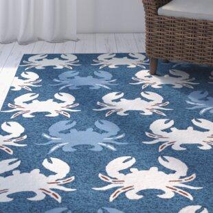 Sereno Handmade Navy Indoor Outdoor Area Rug