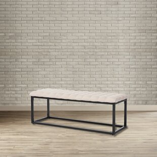 Affordable Luna Upholstered Bench ByMercury Row