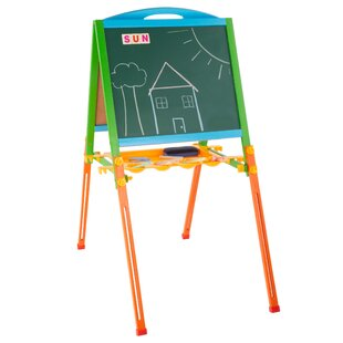 Kids Adjustable Board Easel by Hey! Play!