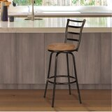 Deandre Adjustable Height Swivel Bar Stool by Zipcode Design™
