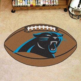 Nfl Carolina Panthers Football Mat