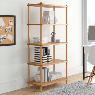 Wisconsin Standard Bookcase by Loon Peak Great Reviews