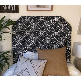 Reviews Horrell Beveled Twin/Twin XL Upholstered Panel Headboard by Zoomie Kids
