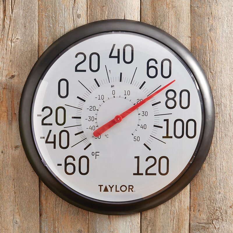 Taylor Precision Products Big And Bold Dial Thermometer Reviews Wayfair