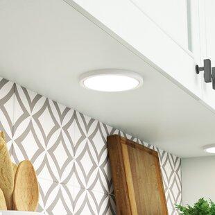 Ebern Designs Sharbono 1-Light LED Integrated Flush Mount