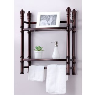 BEST LIVING INC Monaco Wall Mounted/Countertop Towel Rack