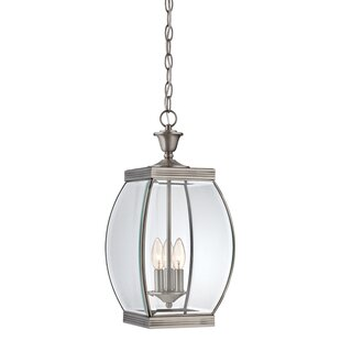 Compare Vieux 3-Light Outdoor Hanging Lantern By Lark Manor