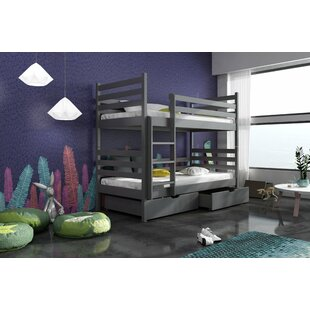 Best Landis Single (3') Bunk Bed With Drawers