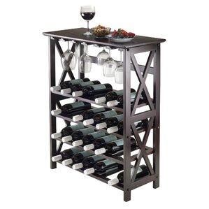 sari 24bottle floor wine rack
