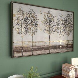 4552e6df17b  Avenue  Framed Painting Print