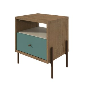 Alviso 1 Drawer Nightstand by Turn on the Brights