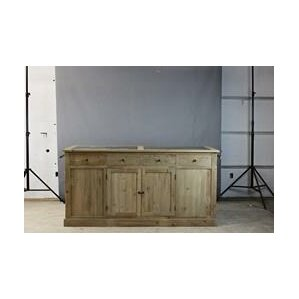 Salazar Kitchen Island with Stone Top by Furniture Classics LTD Best Reviews