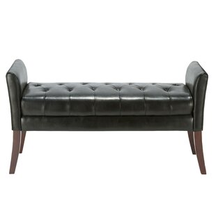 Miranda Faux Leather Bench