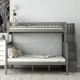 Doraville Twin Bed with Shelves