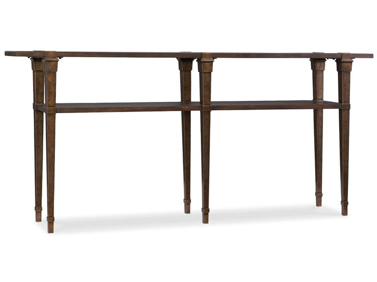 skinny console table. skinny console table