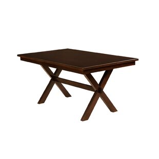 Gracie Oaks Kilwin Solid Wood Dining Table